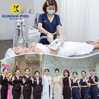 Viện Sắc Đẹp Keangnam Korea 5* - Giảm Béo Ultra Slim Pro 4.0 Hoa Kỳ (Giảm 2-5cm)