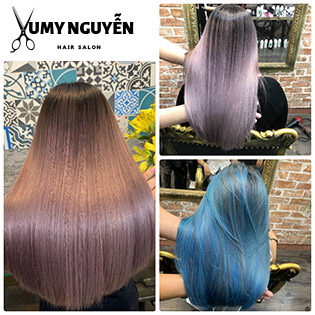 Hair Salon Yumy Nguyễn - Trọn Gói Làm Tóc + Phục Hồi Tóc Cao Cấp