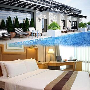Volga Hotel Nha Trang - Đẳng Cấp 4 Sao Quốc  - Miễn Phí Ăn Sáng Buffet, Hồ Bơi, Gym - 2N1Đ Dành Cho 2 Người