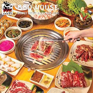 Hệ Thống BBQ House – Tuyệt Phẩm Buffet Nướng & Lẩu Hải Sản, Bò Mỹ Hơn 50 Món Trứ Danh Hàn Quốc
