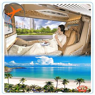 Tour Siêu VIP - Nha Trang 2N3Đ Limousine Giường Nằm Hiện Đại – Du Ngoạn Đảo - Khám Phá Vịnh Nha Trang – Biển Bãi Dài - Robinson Đảo Bích Đầm - Khu Du Lịch 5* Vinpeal Land - Tặng Tiệc BBQ Hải Sản Thịt Nướng - Khởi Hành Thứ 5 Hàng Tuần