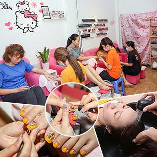 Combo Sơn Gel, Trang Trí Móng Tay Hoặc Chân/ Gội Đầu Massage Thư Giãn Tại Chang Nail