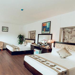 Domov Luxury Hotel Hà Nội 3* - Phòng Junior Family 2n1Đ Cho 03 Khách - Miễn Phí Ăn Sáng Buffet Tại Tầng 7