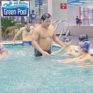 Vé Bơi 3 Lượt Tại Bể Bơi Green Pool Plaza Hà Đông