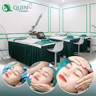 Trị Mụn, Giảm Thâm, Tái Sinh Làn Da Cùng Bác Sỹ Và Chuyên Gia Tại Quin Clinic & Spa