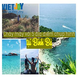 Tour Bình Ba 2N2Đ Giá Cực Sốc - Lặn Ngắm San Hô - Bar Trên Biển – Xe Điện Ngắm Bình Minh – Tham Quan Vườn Nho