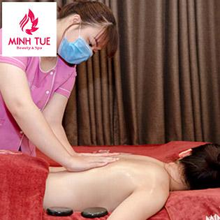 Combo Chăm Sóc Da Mặt Kết Hợp Massage, Chiếu Đèn Trị Liệu Đau Mỏi Cổ Vai Gáy Duy Nhất Tại Minh Tuệ Spa