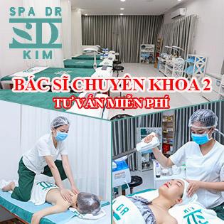 Chuẩn Y Khoa Da Liễu: Chăm Sóc Da Mụn Với Mỹ Phẩm Chuyên Biệt/ Chăm Sóc Da Thư Giãn Kết Hợp Massage Trà Xanh Tại Spa Dr. Kim