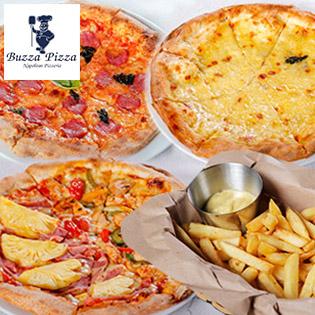 Hệ Thống Buzza Pizza – Ưu Đãi Khủng Mua 01 Tặng 03 Chỉ Có Tại Hotdeal