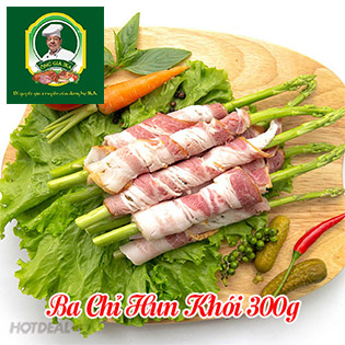 Thực Phẩm Ông Già IKA - Ba Chỉ Hun Khói 300G