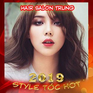 Style Tóc Đẹp Cao Cấp: Trọn Gói Uốn/ Duỗi/ Nhuộm + Cắt + Gội + Sấy Tạo Kiểu Tại Hair Salon Trung