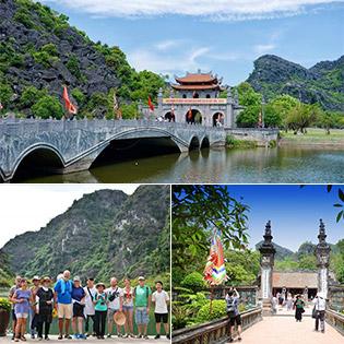 Tour 01 Ngày Khám Phá Ninh Bình: Hoa Lư - Tuyệt Tình Cốc - Tràng An - Phim Trường Kong