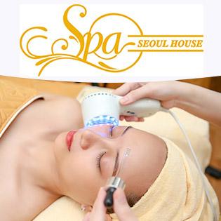 90 Phút Thải Độc, Ủ Trắng Da/ Trị Mụn Tận Gốc/ Cấy Tảo Xoắn + Massage Đá Nóng Vai, Cổ, Tay - Seoul House Spa
