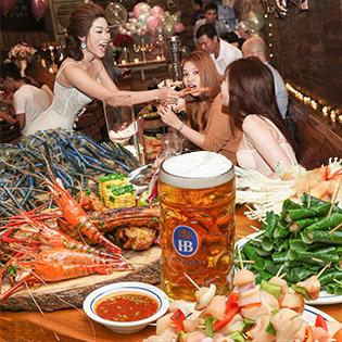 Buffet Gọi Món - 50 Món Hải Sản Nướng Ăn Thả Ga Không Lo Về Giá Tại Nhà Hàng Hell Bull 3
