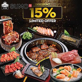 Hệ Thống Sumo Yakiniku Các Tỉnh - Buffet Premium Hơn 100 Món Nướng & Lẩu Trứ Danh Nhật Bản