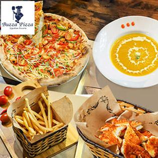 Hệ Thống Buzza Pizza Ưu Đãi Khủng - Combo 04 Món Siêu To