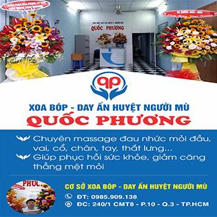 Massage Body Đá Nóng + Ngâm Chân Thảo Dược + Xông Hơi Tại Massage Khiếm Thị Quốc Phương