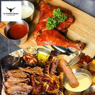Ưu Đãi Không Phanh - Combo Thịt Xông Khói Texas Dành Cho 02 - 03 Người Tại La Smoke House