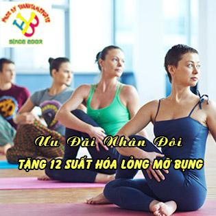 Ưu Đãi Hot - 1 Tháng Tập Yoga Tại Thanh Tâm Yoga & Fitness