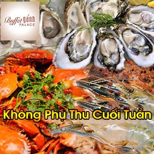Buffet Tối Gánh Palace 4* - Hải Sản Cao Cấp Tại Phố Đi Bộ Nguyễn Huệ