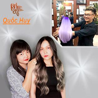 Cây Kéo Vàng Quốc Huy TOP 10 Salon Uy Tín Nhất Sài Gòn - Trọn Gói 5 Dịch Vụ Uổn Duỗi Nhuộm Cao Cấp