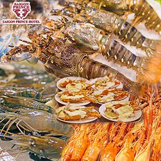Buffet Hải Sản Tôm Hùm Tối Thứ 5, 6 & Thứ 7 View Phố Đi Bộ Nguyễn Huệ Tại Sài Gòn Prince Hotel 4* - Áp Dụng Lễ