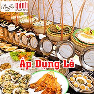 Buffet Gánh 3 Miền Buổi Trưa - Áp Dụng Lễ, Tết Tại Khách Sạn Bông Sen - Đồng Khởi