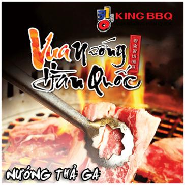 Giá Sốc King BBQ Đào Tấn - Buffet Nướng Thả Ga 179K