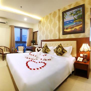Khách Sạn Hùng Anh Tiêu Chuẩn 3 Sao Đà Nẵng - Biển Mỹ Khê, Ăn Sáng Buffet - 2N1Đ Cho 02 Người