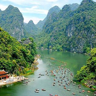 Tour VIP: Hà Nội - Hoa Lư - Tràng An - Hang Múa - Miễn Phí Xe Đạp - Khởi Hành Hàng Ngày