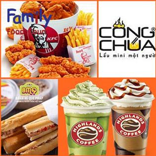 KFC, Highland Coffe, Bánh Mì Que, Mrdee Ăn Thỏa Thích Tại Thiên Đường Ẩm Thực Family Food House
