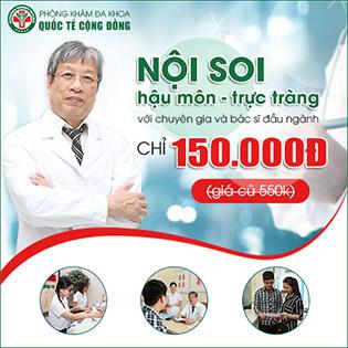 Gói Nội Soi Hậu Môn Trực Tràng Chỉ Với 150k - Chữa Bệnh Trĩ Không Đau - Không Nằm Viện