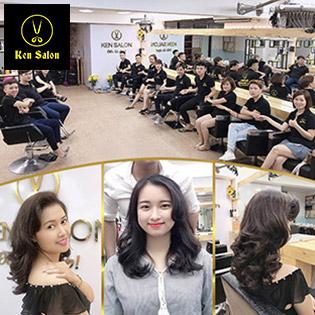 Trọn Gói Làm Tóc Đẹp Đẳng Cấp Tại Ken Salon - Áp Dụng 02 Cơ Sở