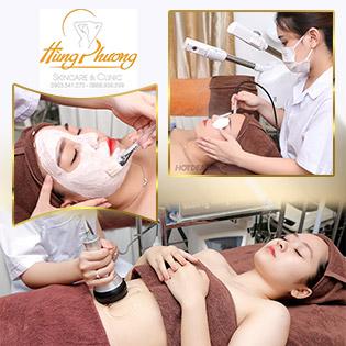 Combo 5 Lần Trị Mụn Tận Gốc/ Nâng Cơ Thon Gọn Mặt/ Giảm Béo Vùng Bụng, Đùi, Bắp Chân, Bắp Tay Độc Quyền Tại Hùng Phương Skincare & Clinic