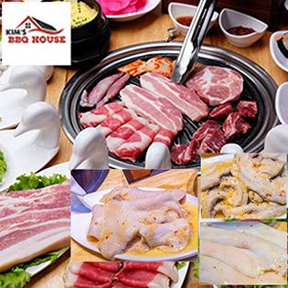 Menu VIP Buffet Lẩu Nướng Chuẩn Vị Hàn Quốc Tại KIM'S BBQ House