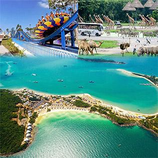 Combo Gold Beach Hotel Phú Quốc 3N2Đ Phòng Standard Dành Cho 2 Người + Buffet Sáng + 2 Vé Safari Người Lớn – Không Phụ Thu Cuối Tuần