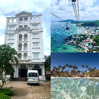 Combo Gold Beach Hotel Phú Quốc 3N2D Phòng Standard Dành Cho 2 Người + Buffet Sáng + 2 Vé Cáp Treo Hòn Thơm + Ăn Buffet Hòn Thơm– Không Phụ Thu Cuối Tuần