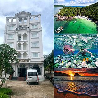 Combo Gold Beach Hotel Phú Quốc 3N2D Phòng Standard + Buffet Sáng + Tour Ngày Và Đêm Dành Cho 2 Người – Không Phụ Thu Cuối Tuần
