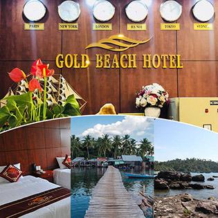 Combo Gold Beach Hotel Phú Quốc 3N2D Phòng Standard + Buffet Sáng + Chèo Thuyền Trên Sông Cửa Cạn Dành Cho 2 Người – Không Phụ Thu Cuối Tuần