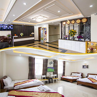 Khách Sạn Biển Ngọc 2* Vũng Tàu – Gần Biển – 2N1Đ Phòng Standard Double - Áp Dụng Cho 02 Người Lớn + 01 Trẻ Em Dưới 05 Tuổi