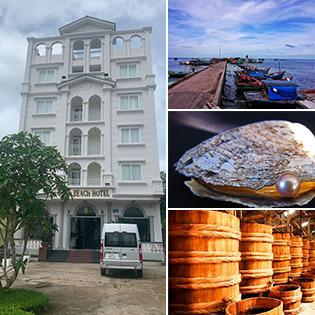 Combo Gold Beach Hotel Phú Quốc 3N2Đ Phòng Standard + Buffet Sáng + Ăn Trưa + Tour Tham Quan Bờ Phía Nam Đảo Dành Cho 2 Người – Không Phụ Thu Cuối Tuần