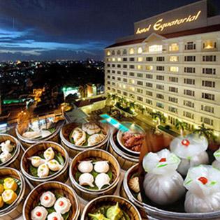 Buffet Dimsum 5* Buổi Trưa Hơn 70 Món Tại Orientica - Khách Sạn Equatorial - Miễn Phí Vé Hồ Bơi