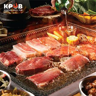 Hệ Thống K-Pub - Buffet Nướng Lẩu Đường Phố Hàn Quốc - Bao Gồm Nước Uống Và Buffet Line Hơn 30 Món