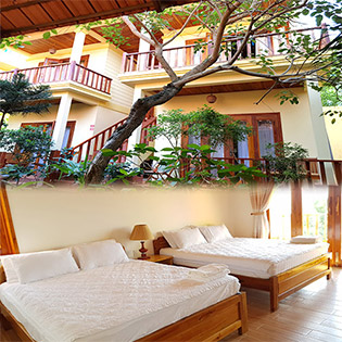Free Beach Resort Phú Quốc - Phòng Deluxe Garden View 2N1Đ - Cho 02 Khách