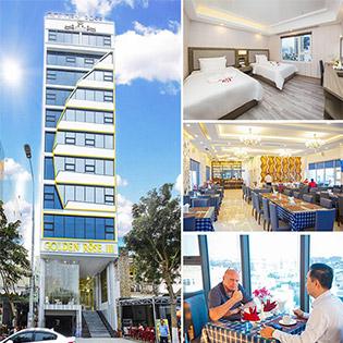 Khách Sạn Golden Rose 3 Đà Nẵng - Phòng Superrior Giường King 2N1Đ - Miễn Phí Ăn Sáng Buffet - CHo 02 Khách