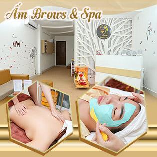 Ấm Brows & Spa – Đồng Giá Combo 99k: Chăm Sóc Da Mặt Cơ Bản + Chăm Sóc Bàn Chân/ Thư Giãn Aroma + Thanh Tẩy Cơ Thể/ Massage Body 60' + Tẩy Tế Bào Chết Facial + Đắp Mặt Nạ Cấp Ẩm