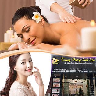 80 Phút Massage Body + Chăm Sóc Da Mặt  - Trang Dưỡng Sinh Spa