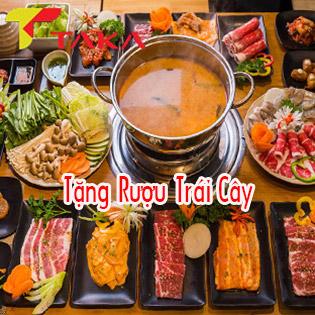 Taka BBQ - CN Q.10 - Buffet Lẩu & Nướng Bò Mỹ, Hải Sản Chuẩn Bị Hàn Quốc