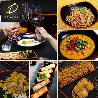 Set Món Âu 8 Món Dành Cho 2 Người Tại December Restaurant & Winehouse