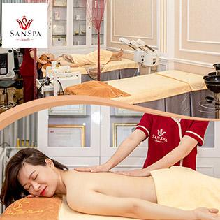 Massage Body Thư Giãn Cơ Thể Kết Hợp Chăm Sóc Da Mặt Tại San Spa & Beauty
